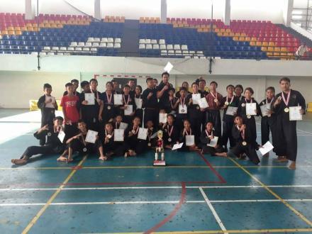Perguruan Pencak Silat SATRIA MUDA INDONESIA UNIT Panji Anom Raih Juara Umum 1 dan 3